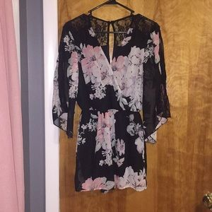 Charlotte Russe Romper Size Small